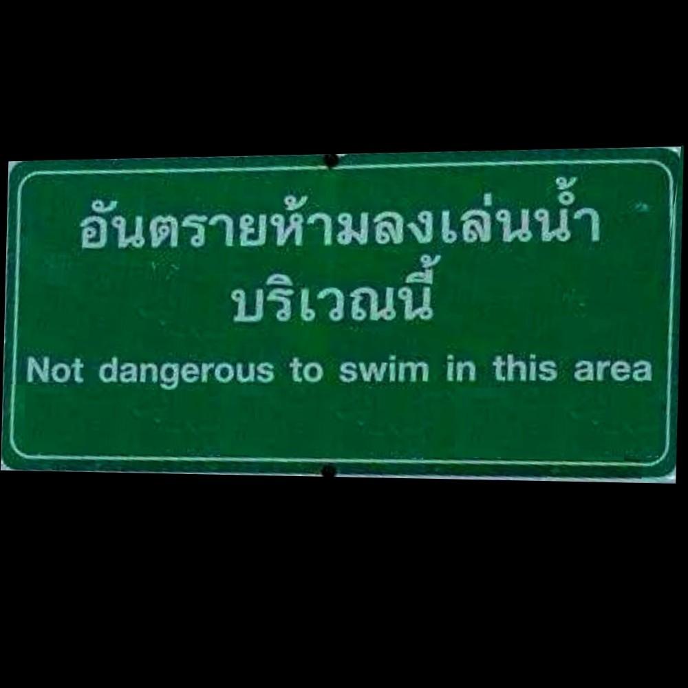 Copy of Not dangerous to swim (2)