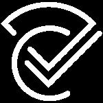 DoubleCheck Logo White Small